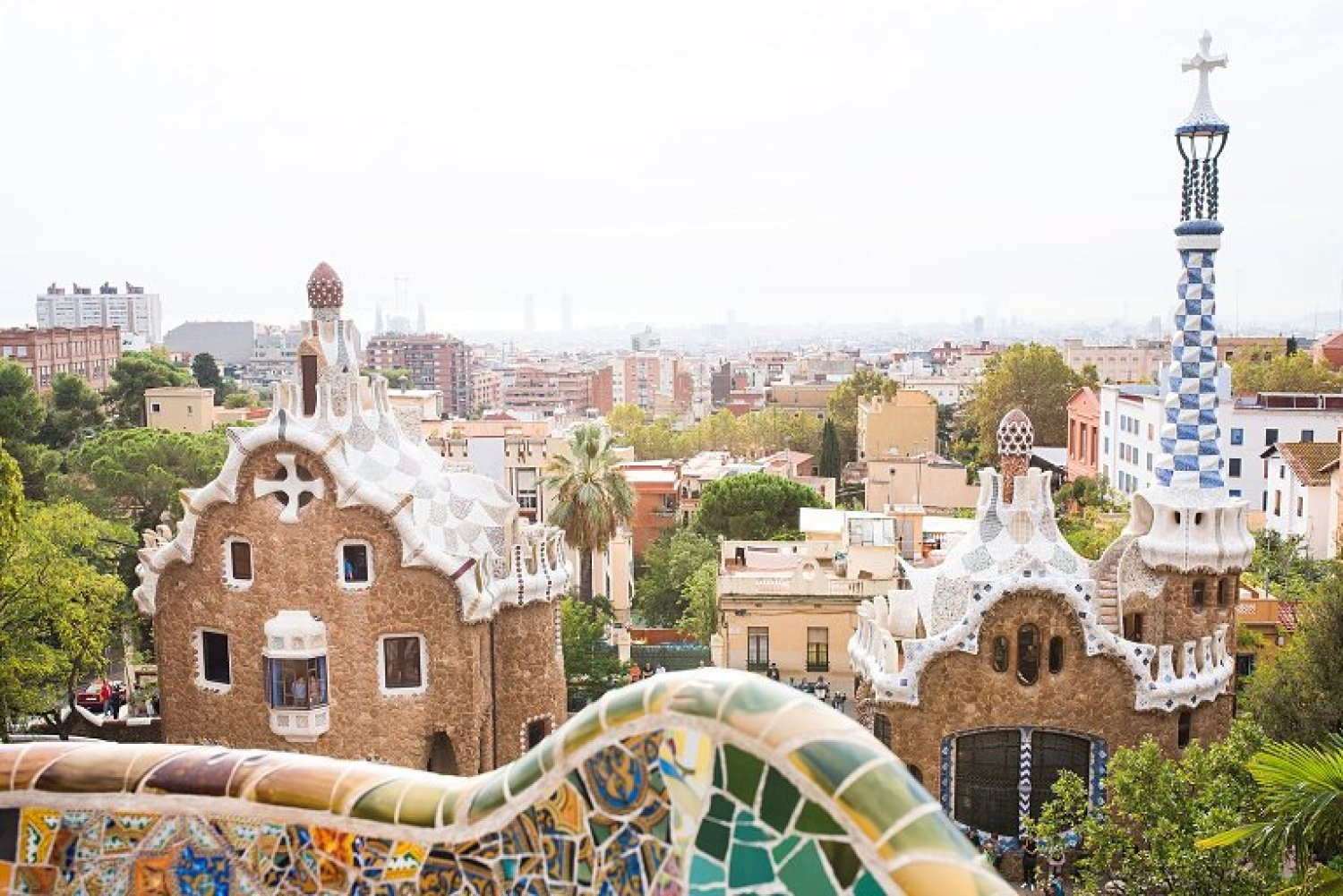 Park Guell in Barcelona sabbatical