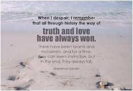 truth love and despair