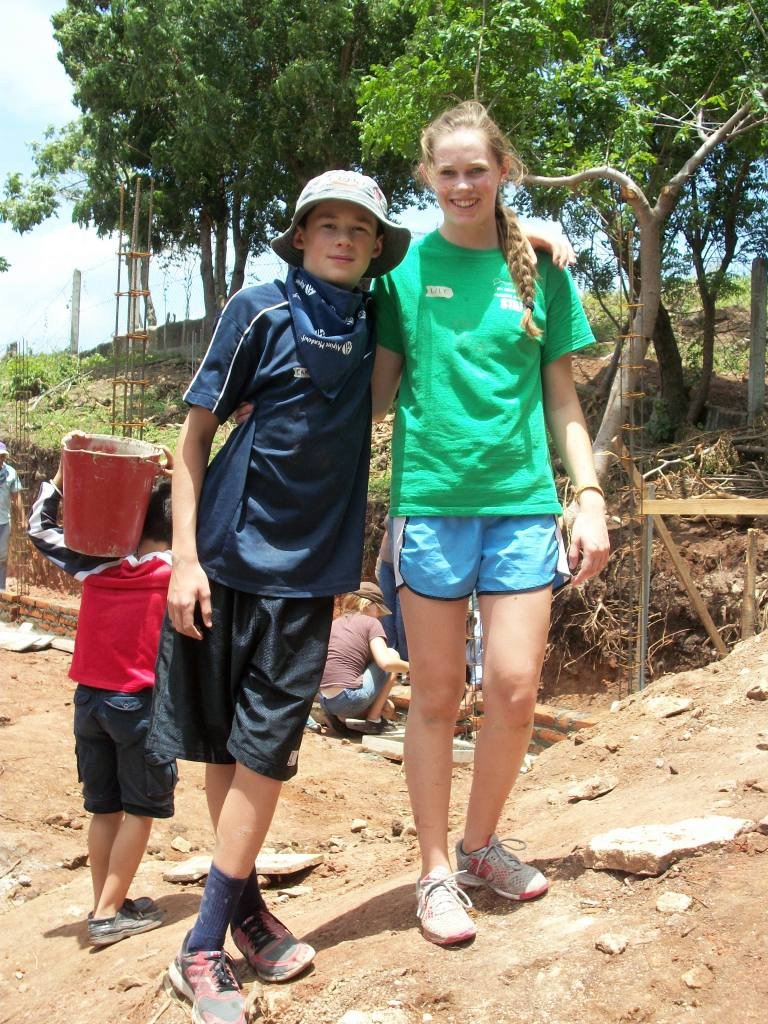 Travel with mamawolfe: Cementing Friendships in Nicaragua