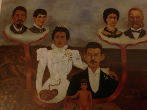 "Frida Kahlo, ""My Grandparents, My Parents and I"""