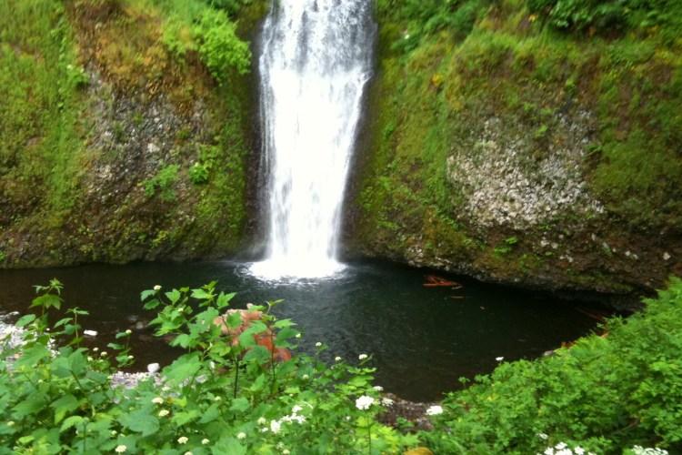 Let Me Be Poetry Celebrating Summer Solstice waterfall