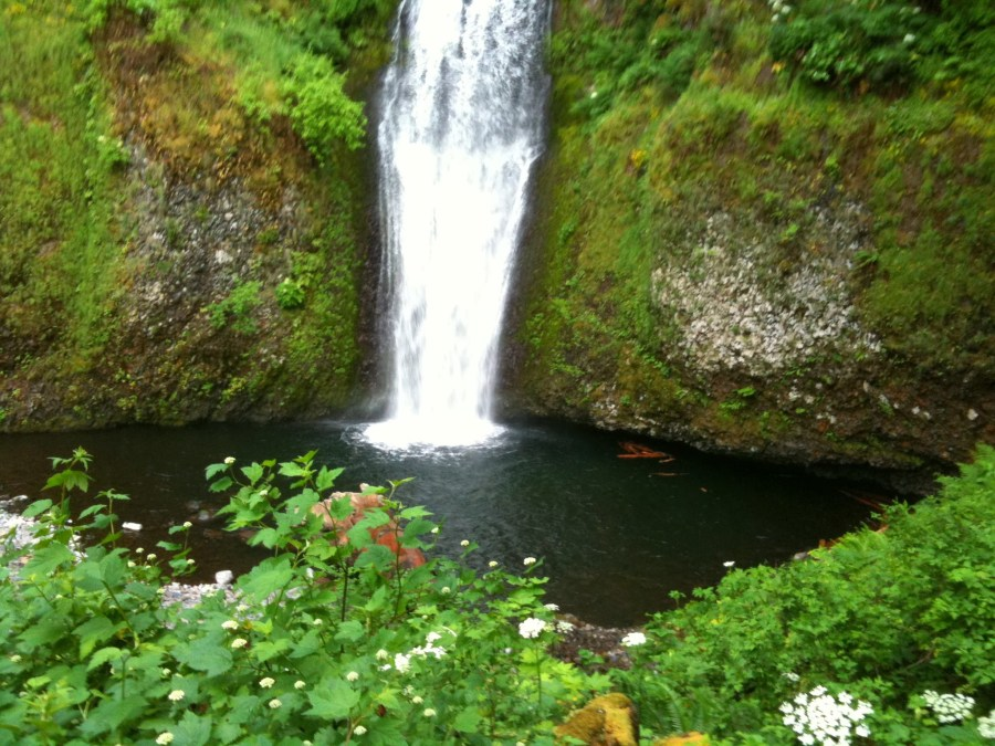 Let Me Be Poetry Celebrating Summer Solstice waterfall