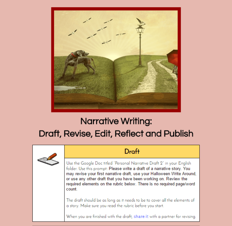 A New Approach To Teaching Writing With Hyperdocs