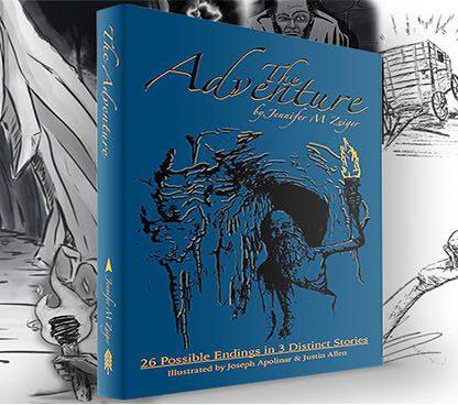 The Adventure Book by Jennifer M Zeiger
