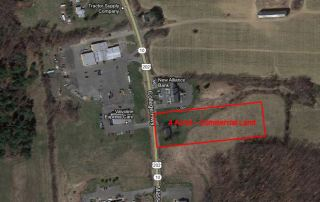 FOR SALE: 4 Acres Southwick Commercial Land