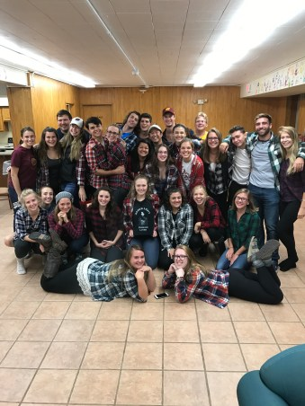 Flannel Party in the Barnes Basement