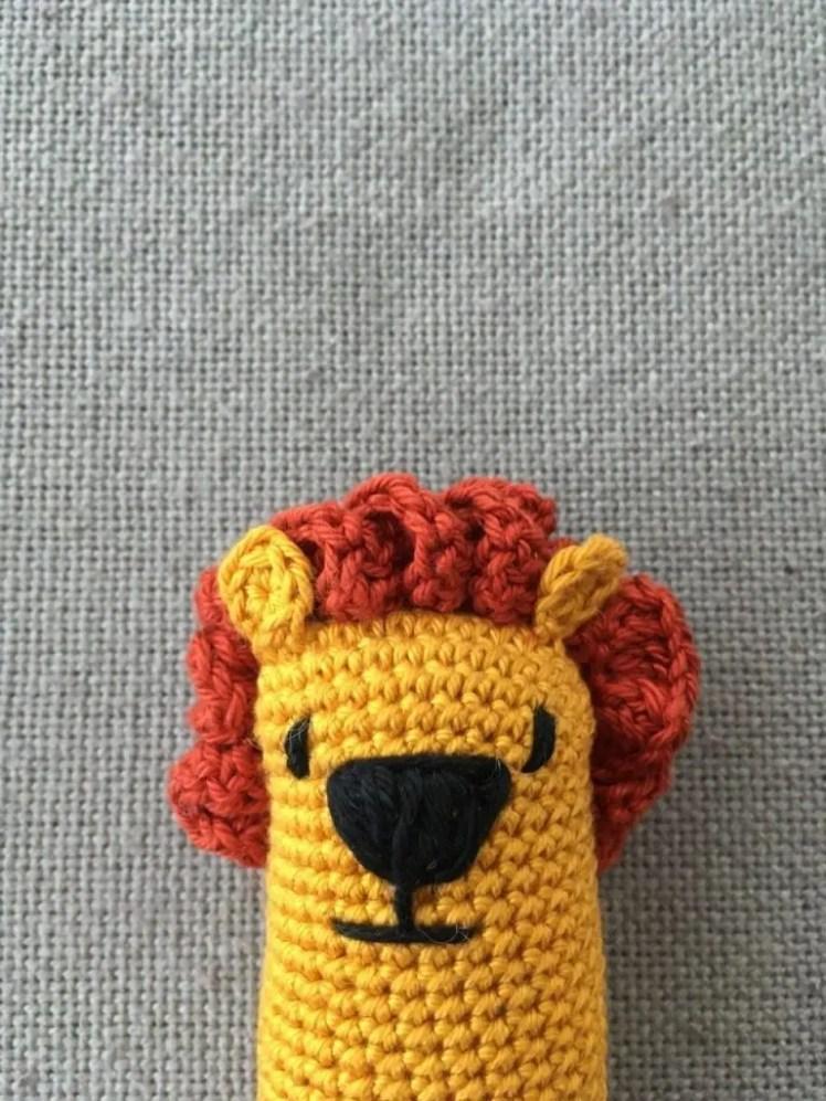 Leopoldo the Lion closeup