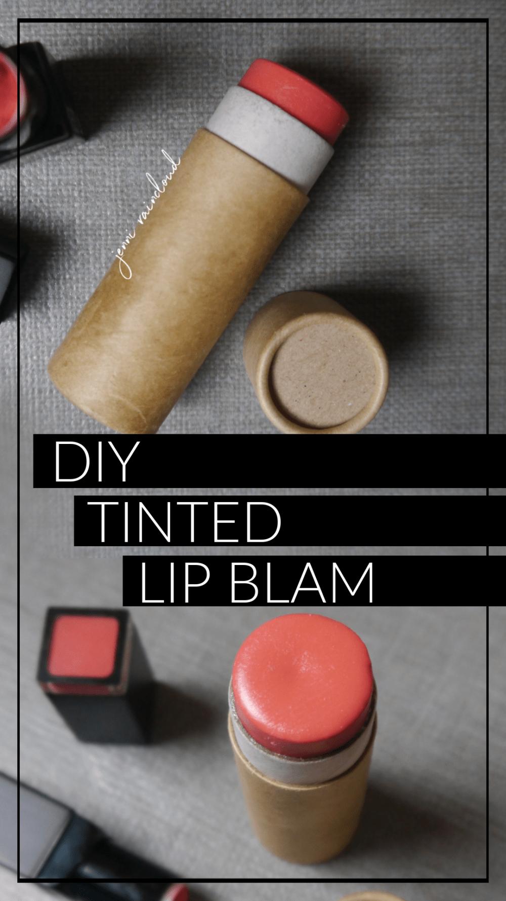DIY Lip Tint