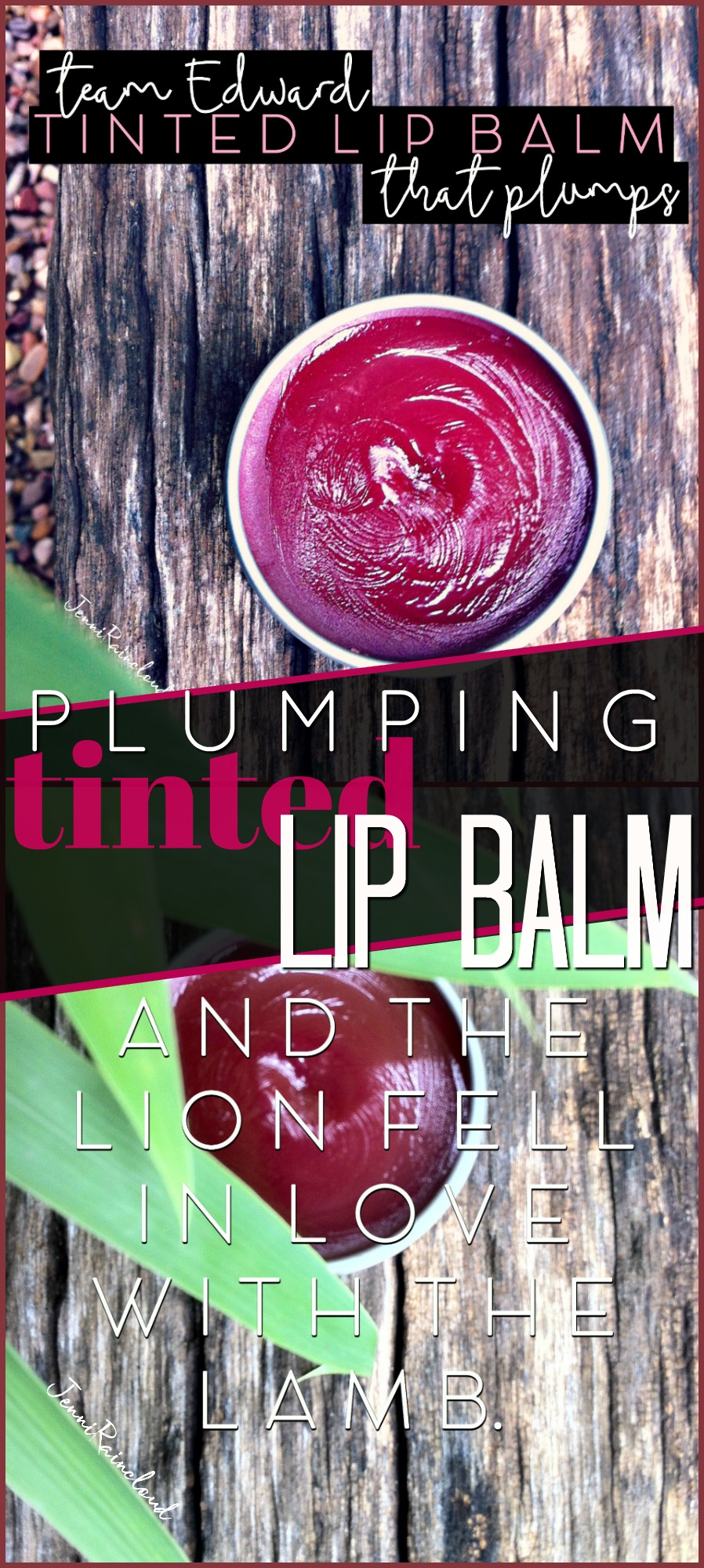 DIY Plumping Tinted Lip Balm