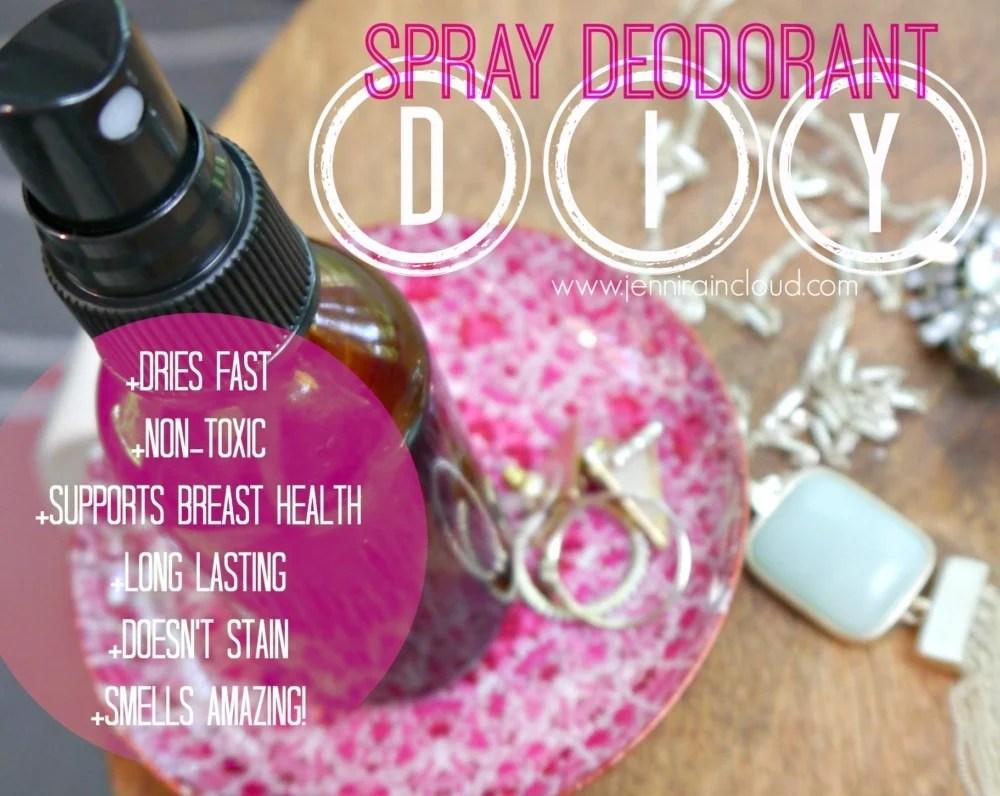 DIY Spray Deodorant