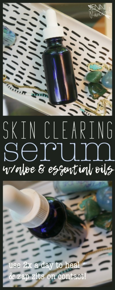 DIY skin clearing Serum