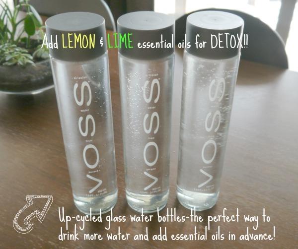 Voss Water bottles