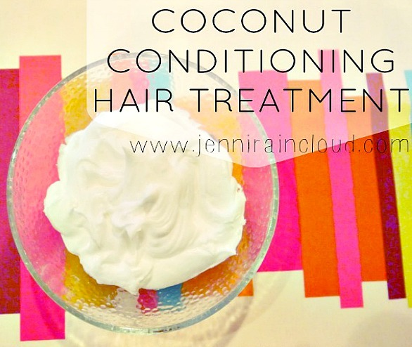 DIY Coconut Hair Treatment