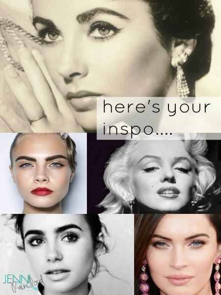 brow collage