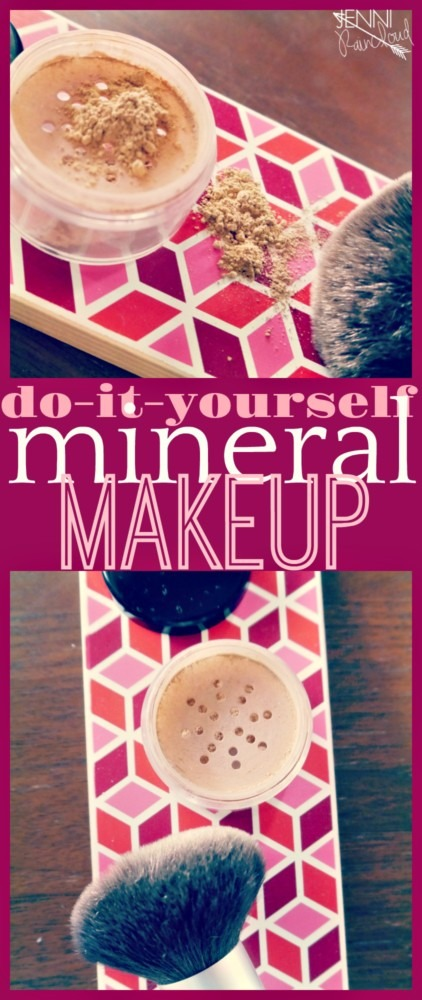 DIY Mineral Makeup - Jenni Raincloud
