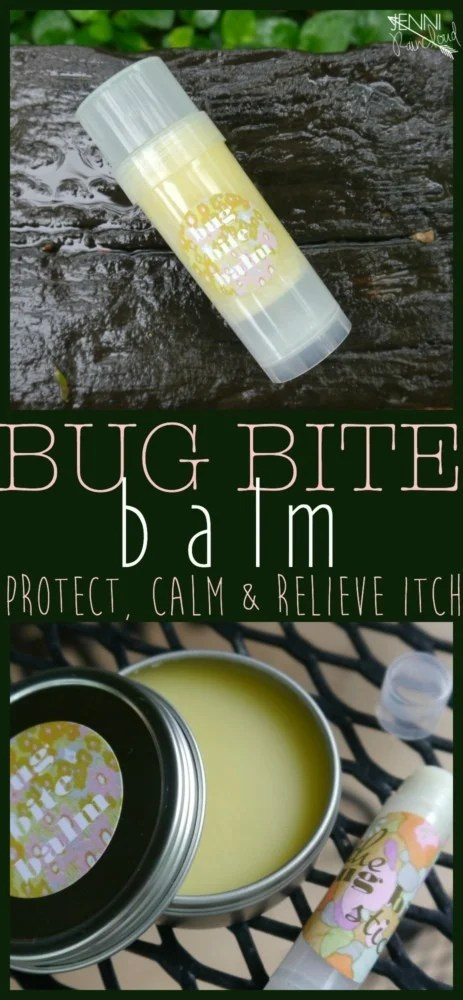 DIY Bug Bite Balm