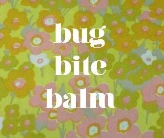 Bug Bite Label