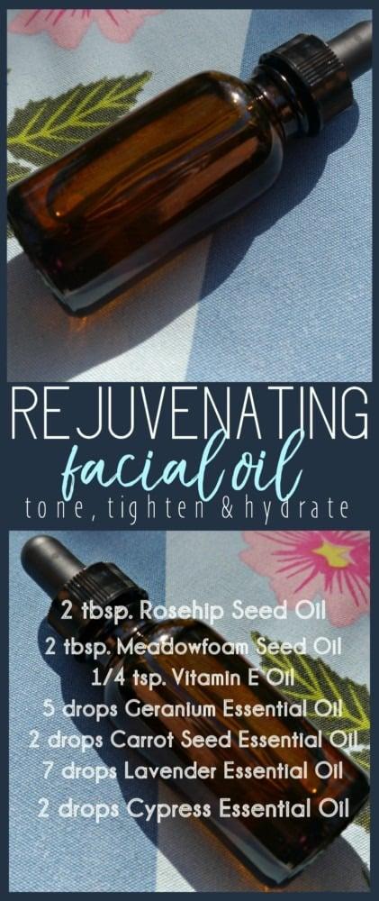 DIY Facial Oil with Rosehip Seed Oil