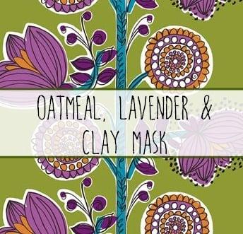 Oatmeal Mask Label
