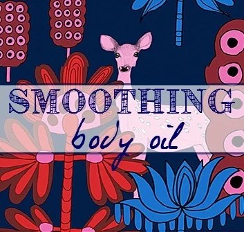 Smoothing Body Oil Label