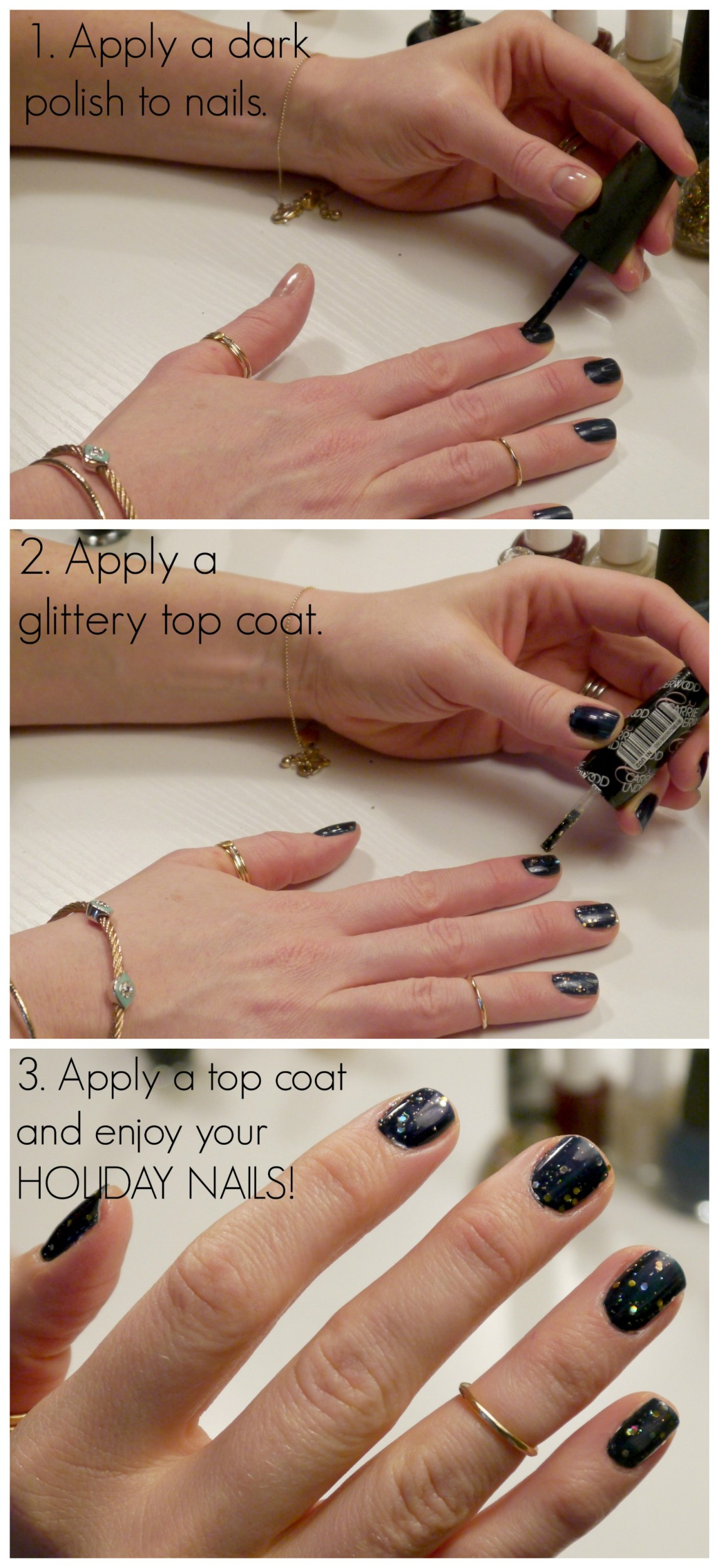 Holiday Nail Tutorial