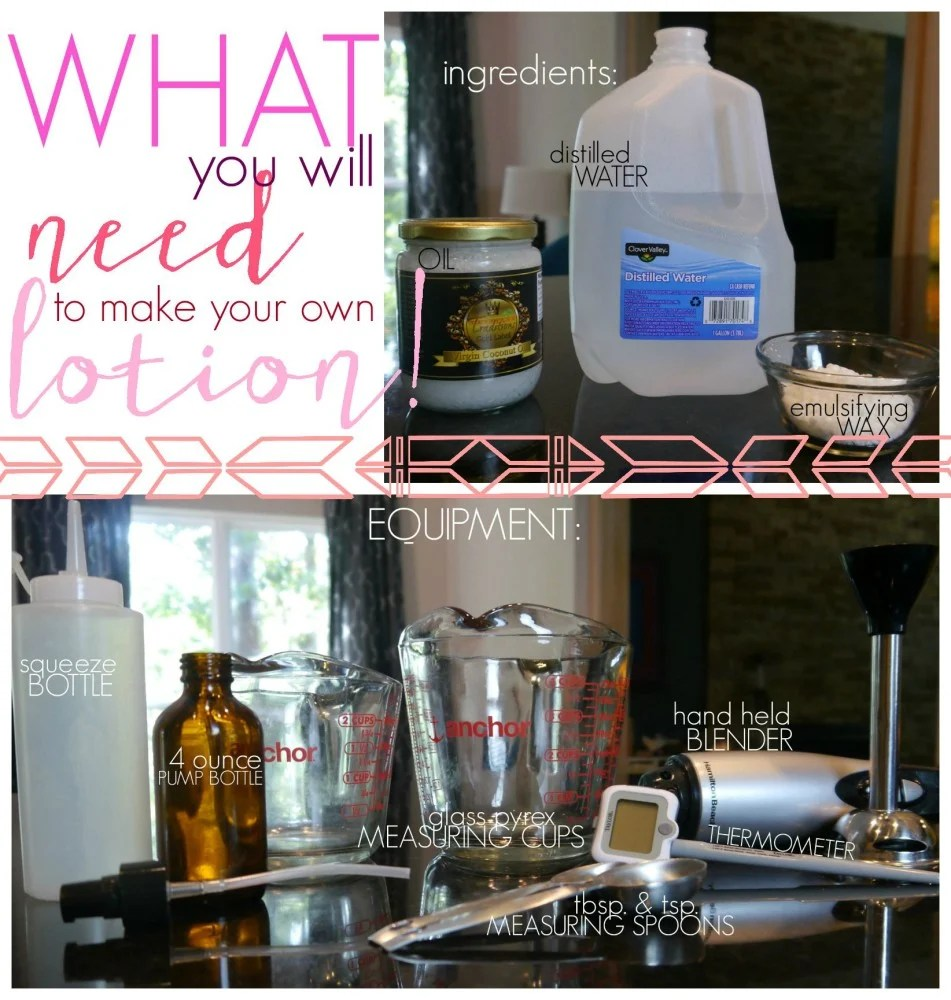 Lotion Making For The Beginner 3 Ingredients 2 Of