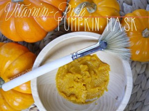 DIY Pumpkin Mask
