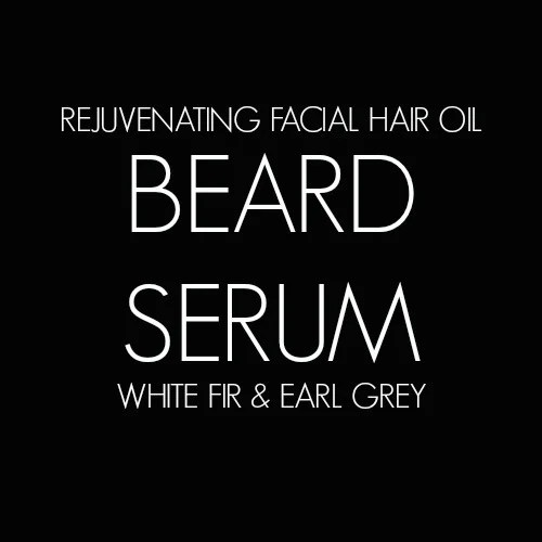Beard Serum DIY Label