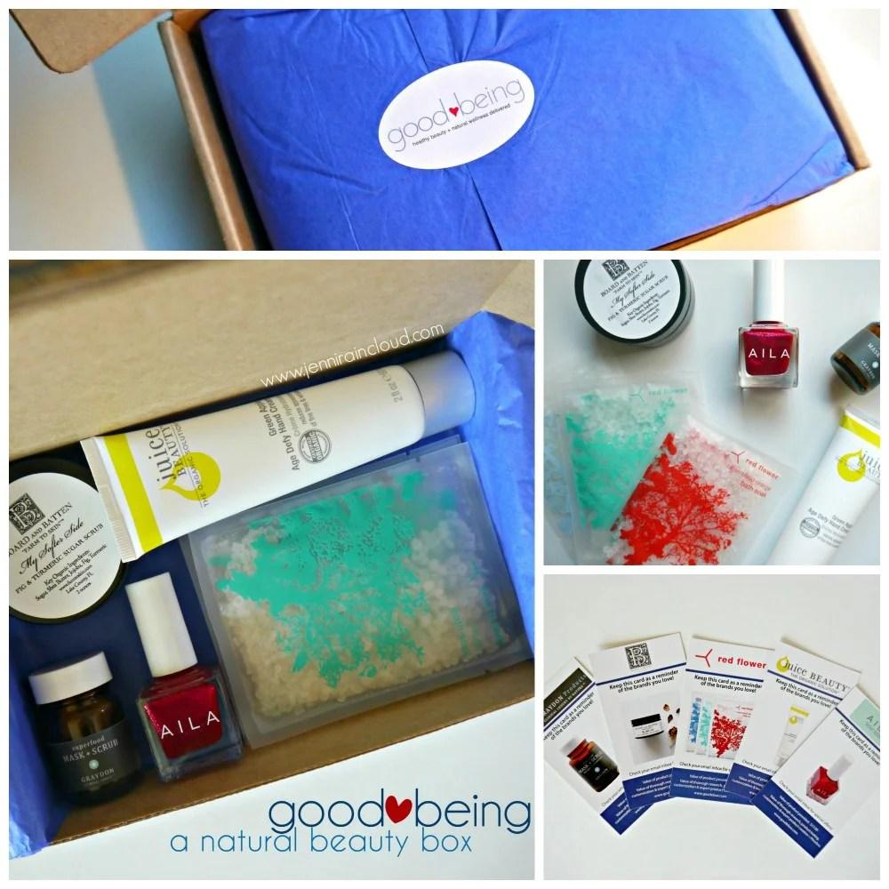 Good Being Natural Beauty Box