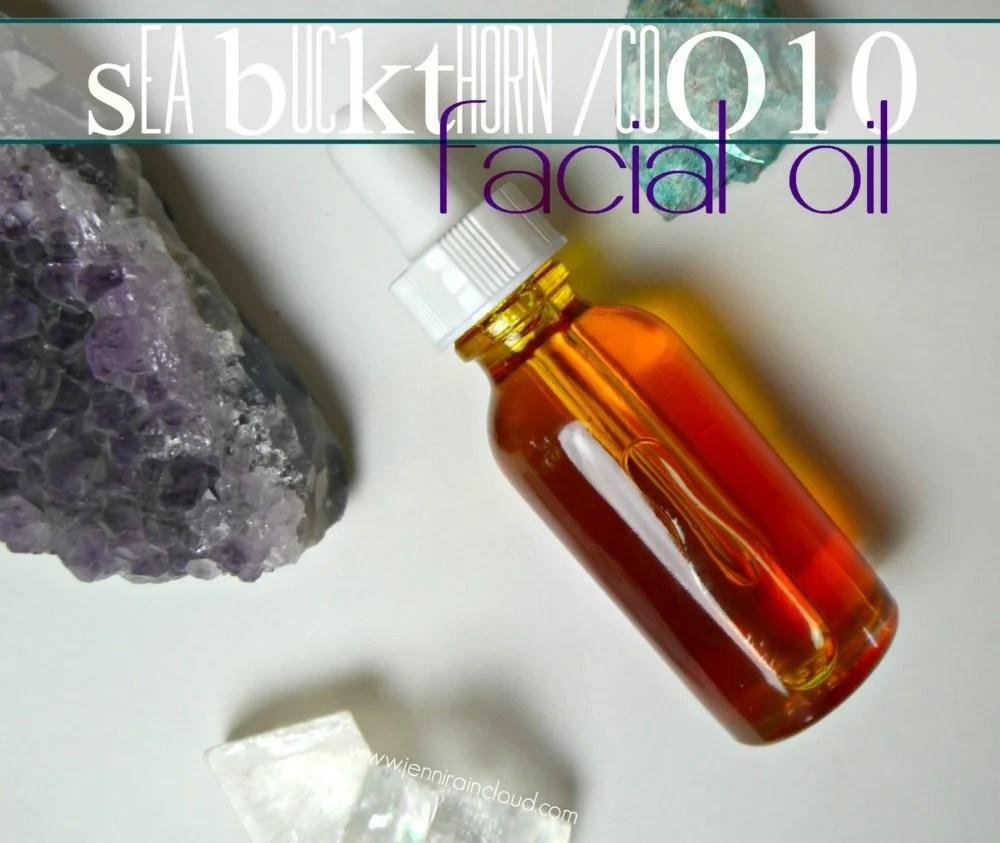 DIY coQ10/Sea Buckthorn Facial Oil