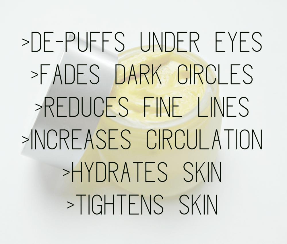 DIY Caffeine Eye Cream