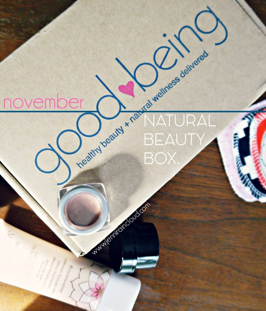 Good Being Beauty Box