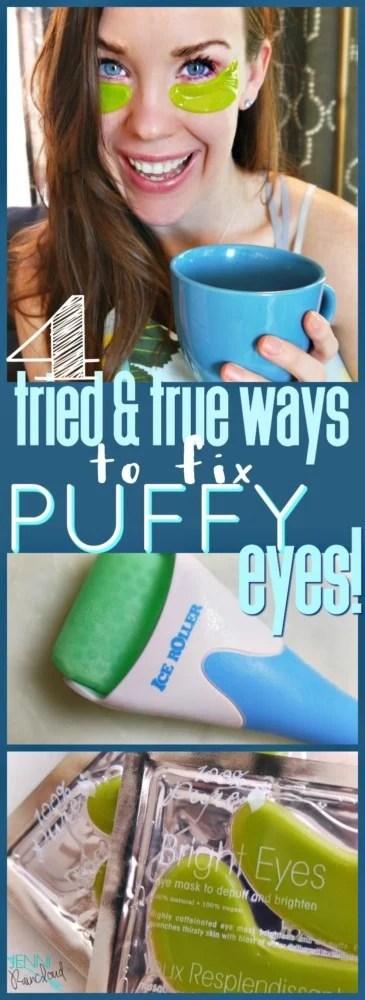 Puffy Eye Remedies Natural