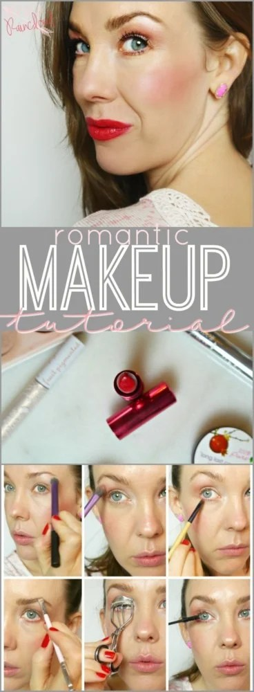 Romantic Makeup Look with 100% Pure