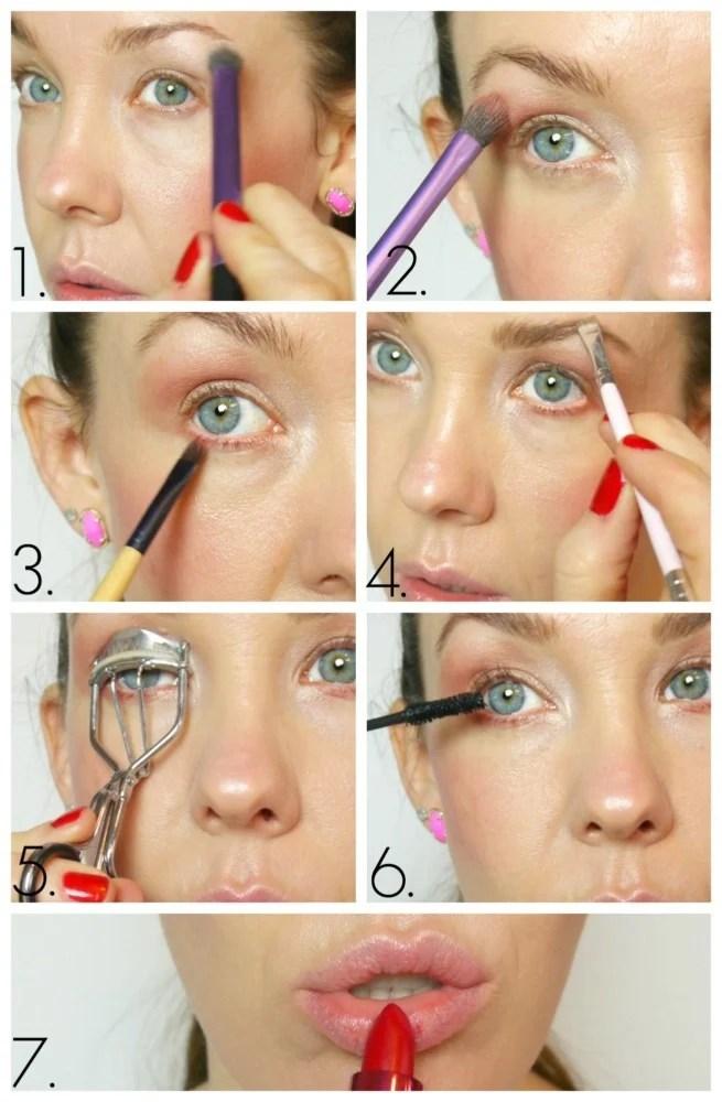 100% Pure Makeup Tutorial