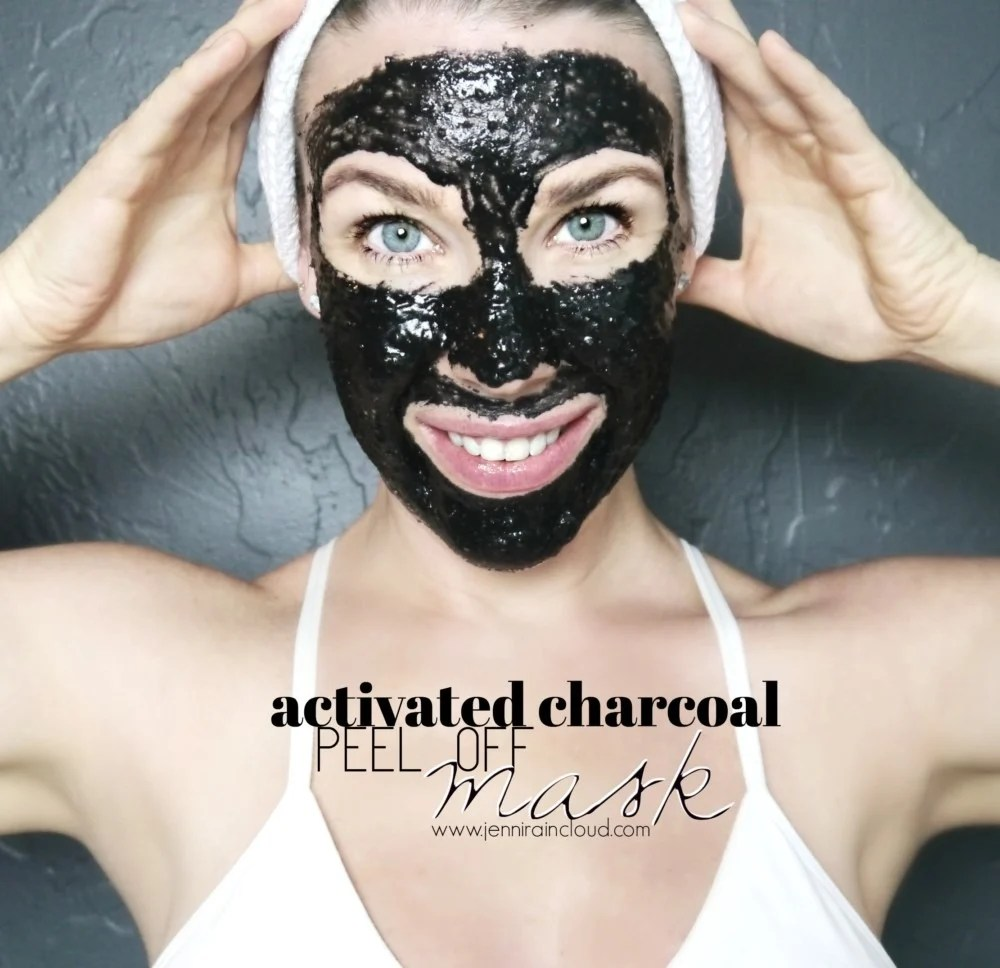 Activated Charcoal Peeling Mask DIY