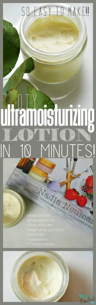 DIY Lotion via Body Unburdened