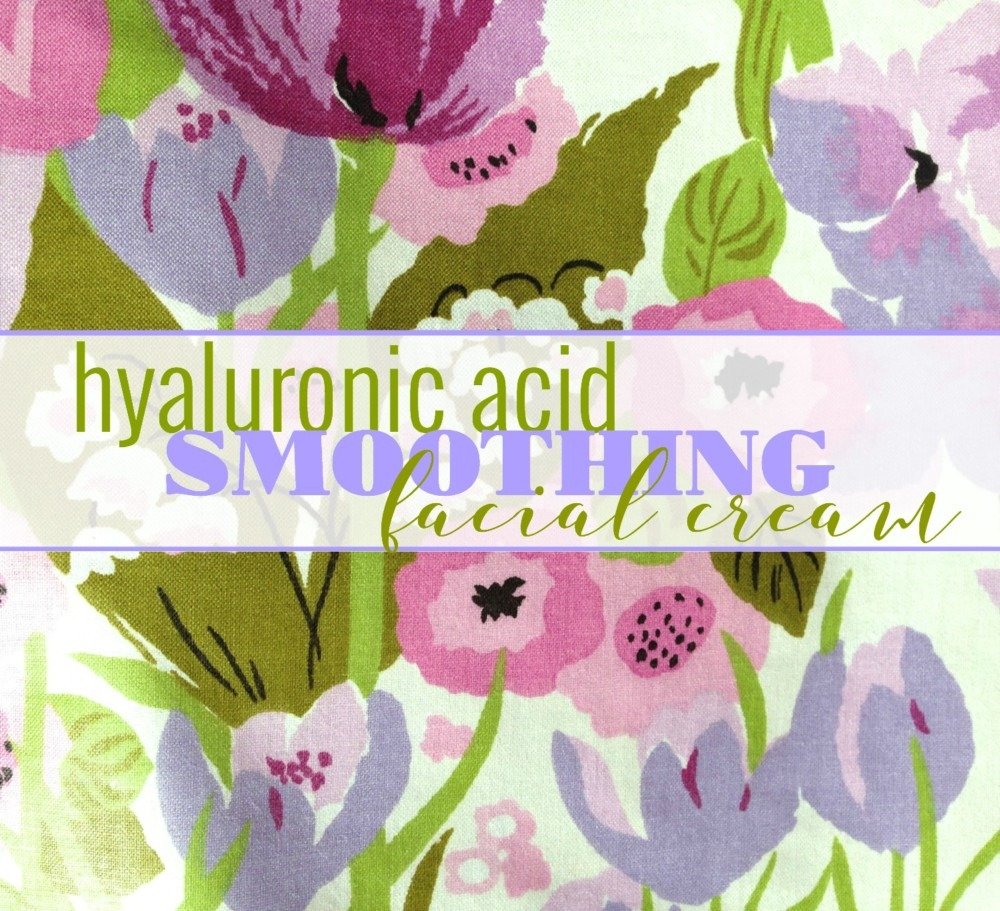 hyaluronic acid cream label diy
