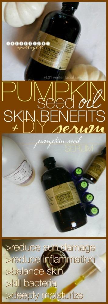 Ingredient Spotlight: Pumpkin Seed Oil + DIY SERUM - Jenni