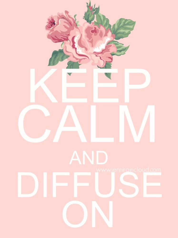 Keep Calm and Diffuse On