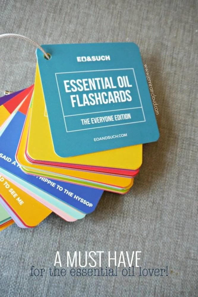 Essential Oil Flash Cards