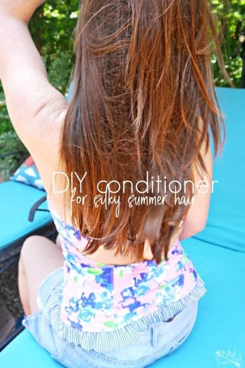 DIY odżywka do włosów