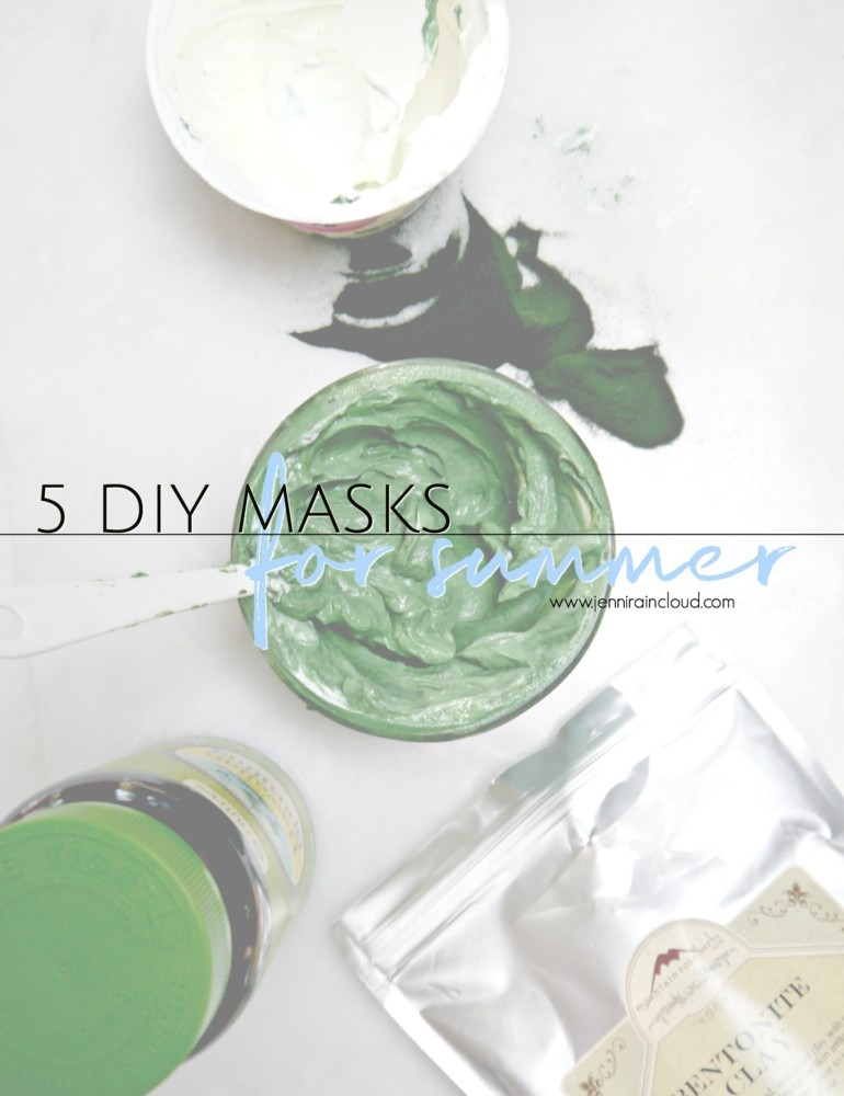 the 5 Best DIY masks for summer