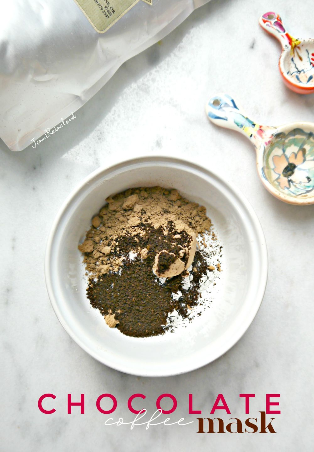 DIY Chocolate Coffee Mask