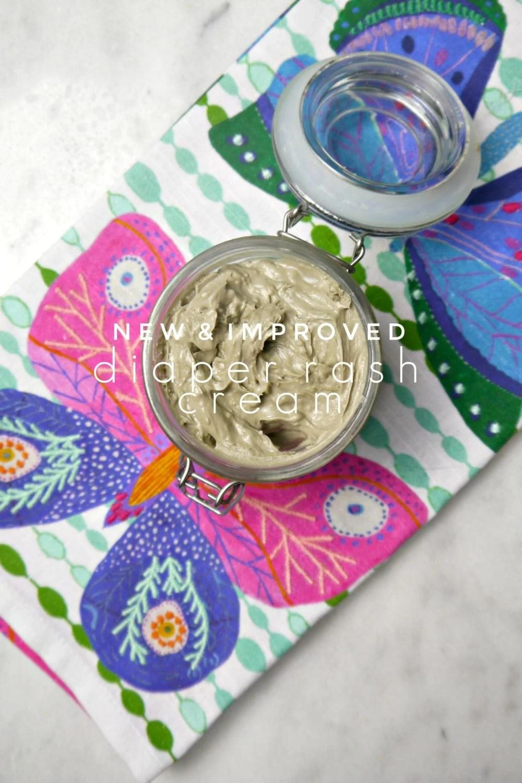DIY Chamomile Infused Coconut Lavender Diaper Rash Cream w/ Clay