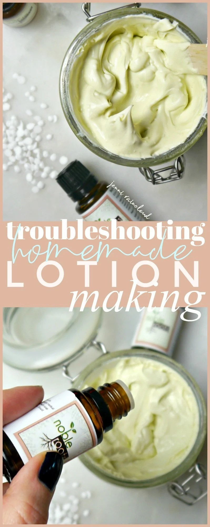 Troubleshooting Lotion Making