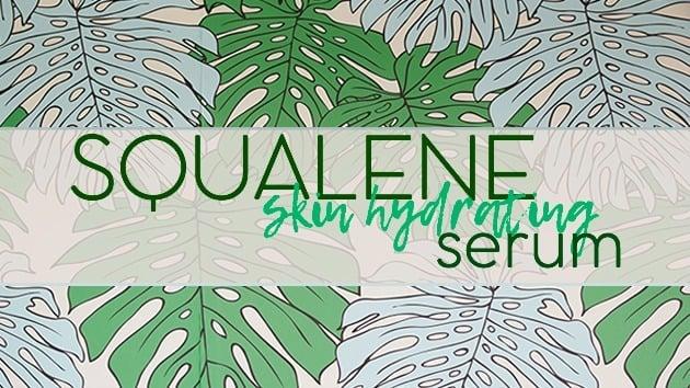 Squalene Serum Label