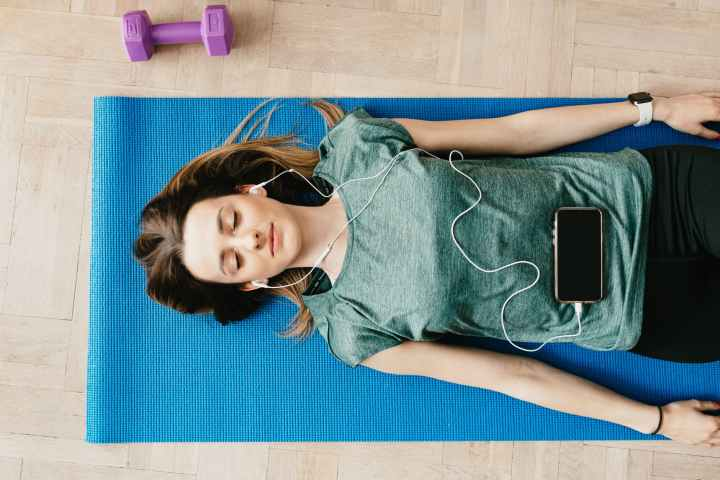 Practice engaging your core