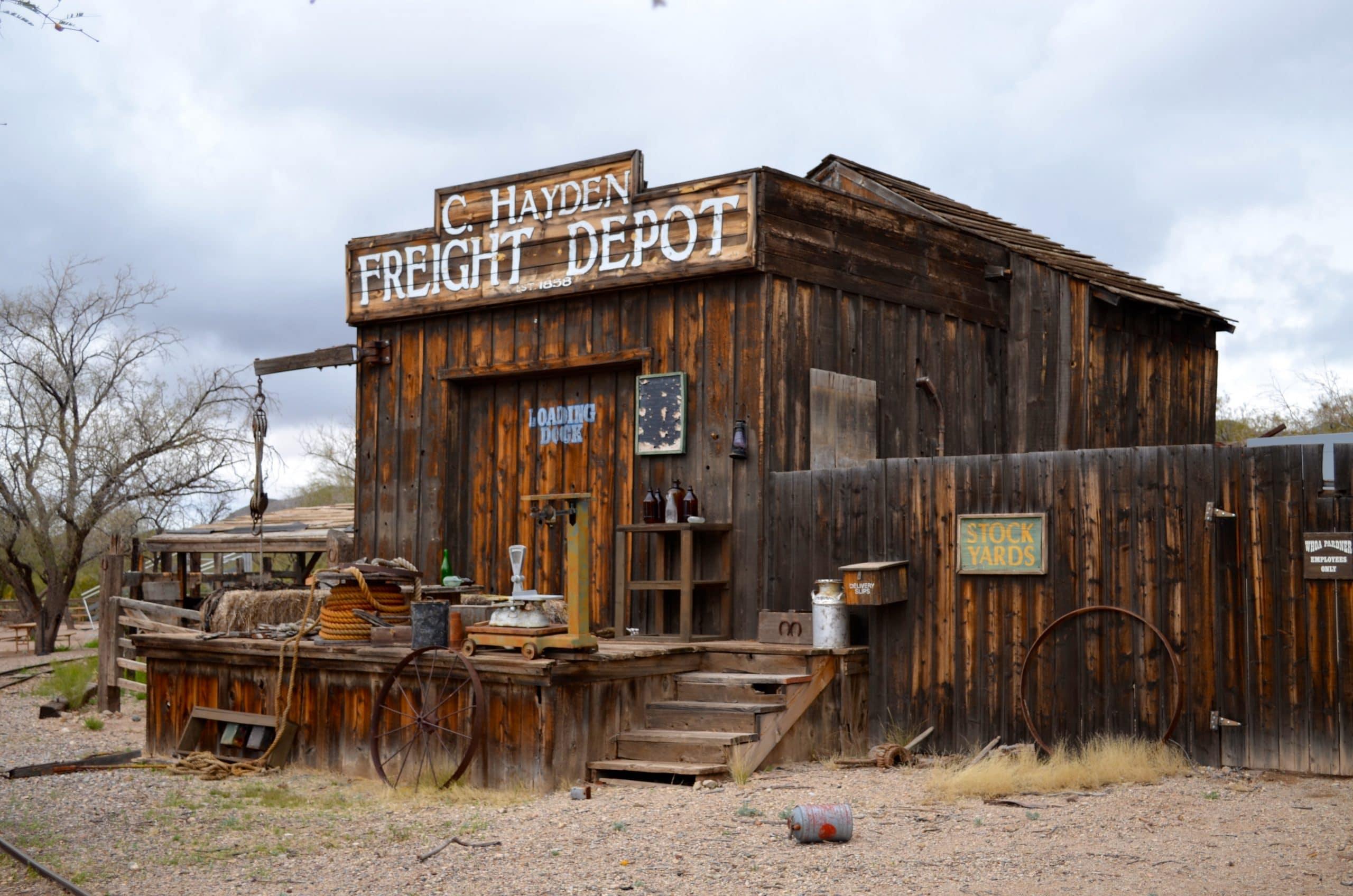 Tour The Wild Wild West Old Tucson Studios