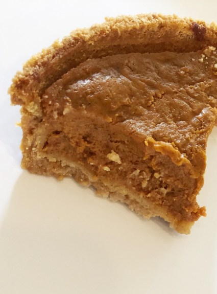 PUMPKIN PIE: Clean-Eating + Gluten Free + Dairy-Free